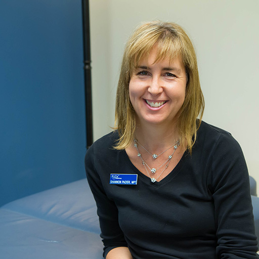Shannon Pazier, MPT, MSW